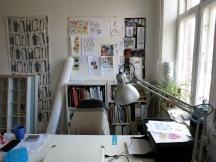 Kreativt kontor.