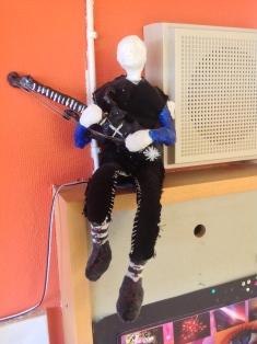 Vår gitarrist!