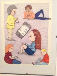 Bilder på mobilen - vanligt i dagens samhälle