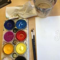 Temperafärg/täckfärg