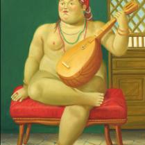 Le Odalisque av Botero